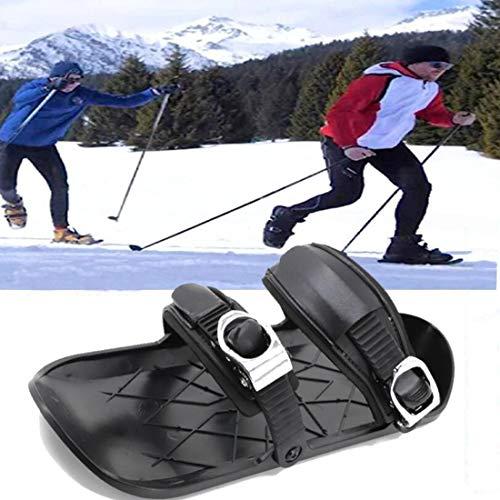 Mini Patins De Ski pour Neige, Skiboard en Plein...