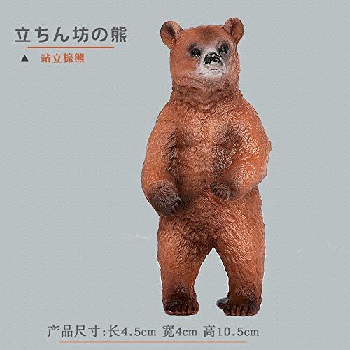 DIU Simulation Ours Brun Jouet Animal modèle Famille...