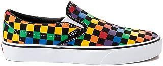 [バンズ] 靴・シューズ スニーカー Slip On Rainbow Checkerboard Skate Shoe - Black/Multicolor ブラック/マルチ US Men's 11.5, Women's 13 (M 29.5, ...