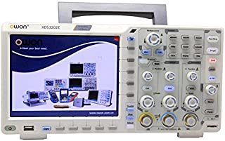 OWON XDS3202E 200MHz 1GS/s 2-channel Digital Storage Oscilloscope, 8 inch TFT-LCD ( 800x600 ), 40M record length, standard I2C, SPI, RS232 and CAN decoding, 75,000wfms/s refresh rate