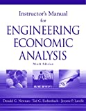 InstructorÕs Manual for Engineering Economic Analysis: Ninth Edition