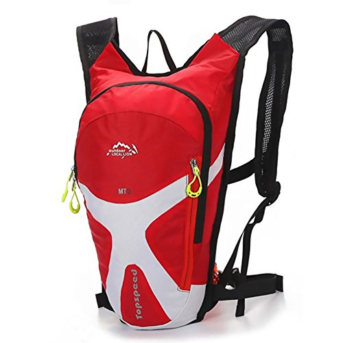 West Biking Radsport Mini Fahrrad Rucksack Bike Bag Sport Rucksack für Wandern, Camping, Laufen Daypacks