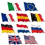 Septiembre 10 banderas de 90 x 150 cm Estados Unidos y Europa para las agencias de alquiler Parks Hotel