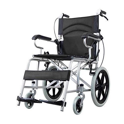 Rollstuhl, Ältere Behinderte Handbuch Handbuch Für Kinderwagen, Aluminium-Legierung, Leicht Und Vielseitig, Bewegliche Abschwenkbare Fußstützen hfbcvvsdfsdfsd