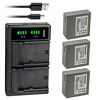 Kastar 3-Pack IA-BP85ST Battery and LTD2 USB Charger Replacement for Samsung SC-HMX20 SC-HMX20C SC-MX10 SC-MX10P SC-MX10R SC-MX20 SMX-F30 SMX-F33 SMX-F34 VP-HMX08 VP-HMX10 VP-MX25