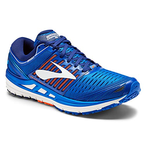 Brooks Transcend 5, Zapatillas de Running para Hombre, Azul (Blue/Orange/White 1d463), 45 EU