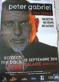 Peter Gabriel–80x 120cm zeigt/Poster