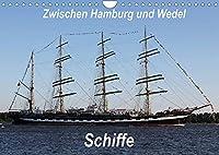 Schiffe - Zwischen Hamburg und Wedel (Wandkalender 2022 DIN A4 quer): Schiffe. Zwischen Hamburg und Wedel ein alltaeglicher und doch immer wieder neuer Anblick. (Monatskalender, 14 Seiten )