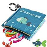 Best Soft Books For Babies - Fish Soft Cloth Book, Shark Tails Soft Activity Review