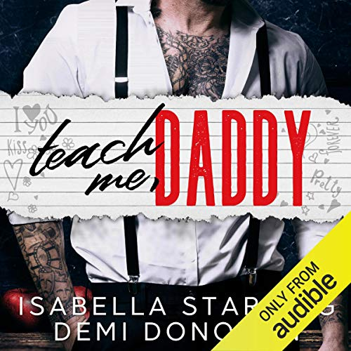 Teach Me Daddy audiobook cover art