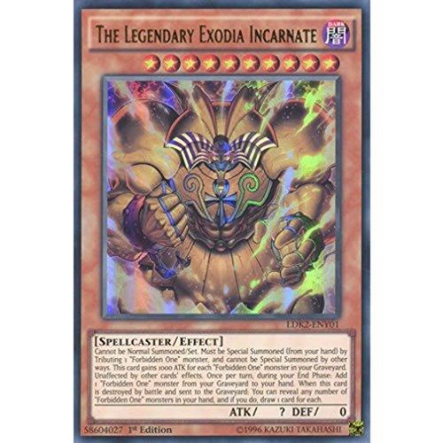 YuGiOh : LDK2-ENY01 Limited Ed The Legendary Exodia Incarnate Ultra Rare Card - ( Yu-Gi-Oh! Single Card ) by Deckboosters