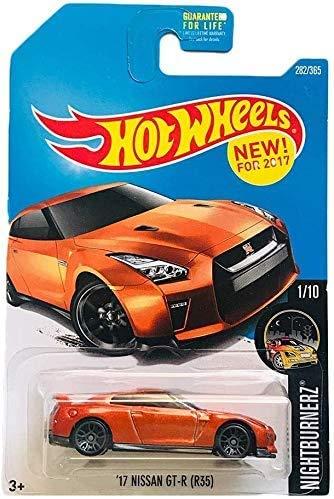 Hot Wheels \'17 Nissan GT-R Nightburnerz 282/365 Coche Miniatura diecast