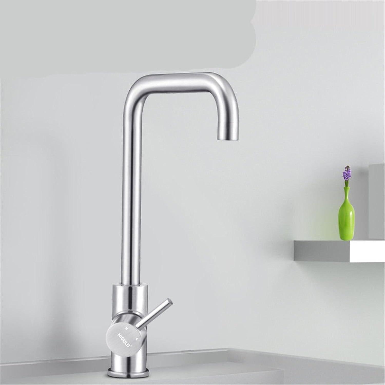 Gyps Faucet Waschtisch-Einhebelmischer Waschtischarmatur BadarmaturDie Küche Kalt Wasserhahn 304 Edelstahl Waschbecken Armaturen,Mischbatterie Waschbecken