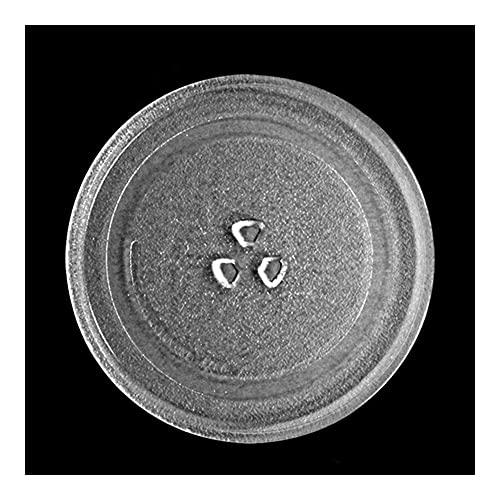 Turnato De Microondas 24,5 Cm Diámetro Tipo Y Tipo Microondas Piezas De Horno Microondas Horno Vidrio Turnato Turdible Bandeja Placa De Vidrio Accesorios Microondas Bandeja De Vidrio