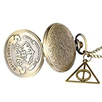 GUOJIAYI Quartz Pocket Watch Necklace Sweater Sweater Pendant Chain Clock and Gift Accessories