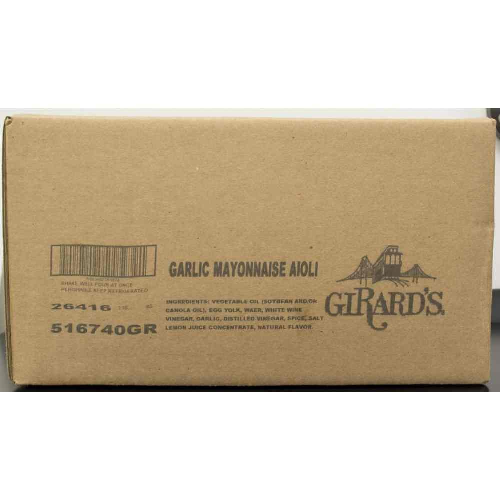Girards Garlic Mayo Aioli Sauce 5 Gallon -- 4 case. Special Campaign Sales of SALE items from new works per