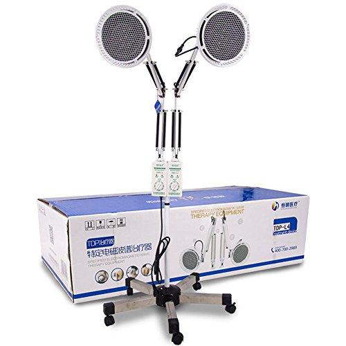 TDP Hitze Lampe Doppelt Kopf Physisch Elektromagnetisch Mineral Therapie Gerät zum Schmerzen Linderung Einstellbar Kopf Fußboden Stand Art 2x250W