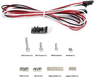 FYSETC MK2.5 MK3 to MK2.5S MK3S New Upgrade Detect Stuck Filament Sensor Kit Latest 3D IR Filament Sensor with Cable fit for Original Prusa i3 MK3 to MK3S 3D Printer Parts