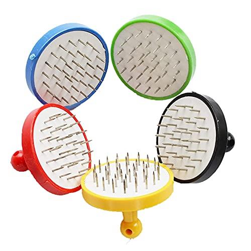 2 Piezas Punzón Para Shisha Para Papel De Aluminio Tabaco Shisha Narguile Foil Perforador Accesorio Hookah (Colores Aleatorios)