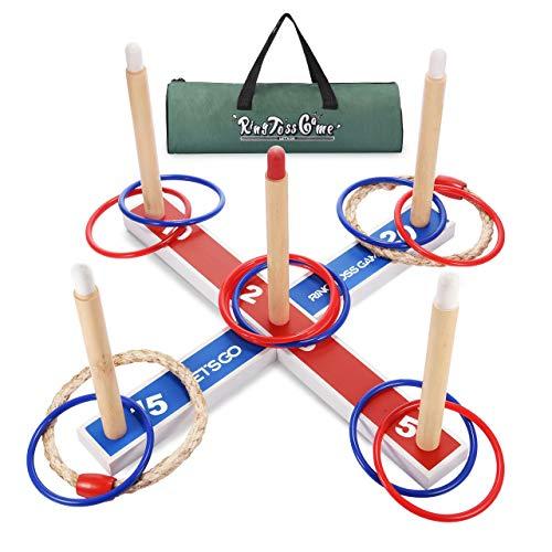 LetsGO toyz Spielzeug ab 4-12 Jahre Junge, Wurfspiele für Draußen Geschenke Spielzeug Junge Mädchen 5-12 Jahre Outdoor Spiele für Jungen Weihnachts Geschenke für Kinder 4-12 Jahre