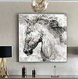 REDWPQ Arte Abstracto Carteles e Impresiones Arte de la Pared Pintura de la Lona...