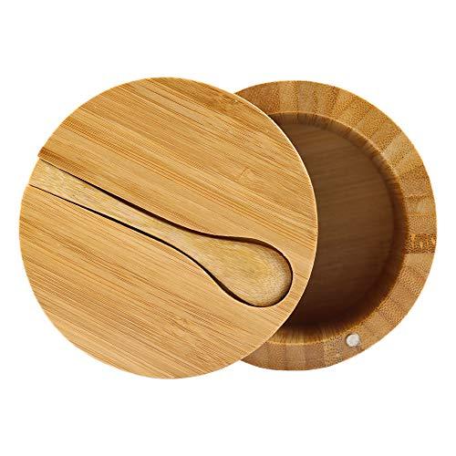salt bowl with spoon - 4