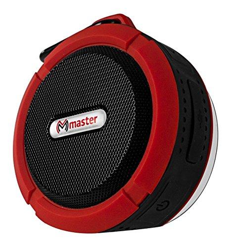 Master- Altavoz (bocina) Bluetooth, Resistente a Impactos, Polvo y Salpicaduras de Cualquier liquido…