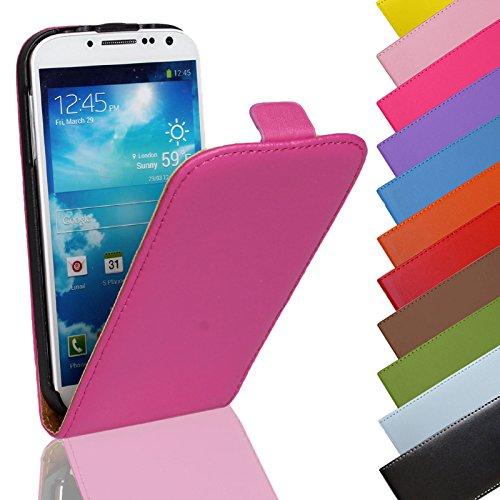 Eximmobile - Flip Hülle Handytasche für Huawei Ascend P6 in Pink | Kunstledertasche Huawei Ascend P6 Handyhülle | Schutzhülle aus Kunstleder | Cover Tasche | Etui Hülle in Kunstleder