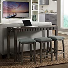 Amazon Com Behind Couch Bar Table