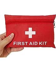 Ulmisfee EHBO Kit Medische Survival Bag,Mini Emergency Bag voor Auto, Thuis, Picknick, Camping, Reizen en Andere Outdoor Activies