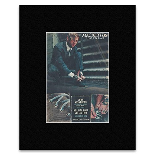 Stick It On Your Wall Mini-Poster, Motiv: Macbeth – Schuhe, 28,5 x 21 cm