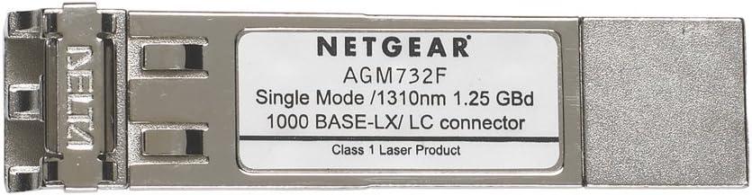 NETGEAR ProSAFE Fiber 1000BASE-LX SFP GBIC Module (AGM732F)