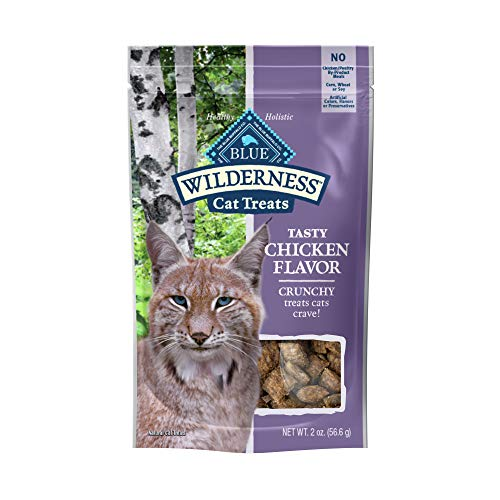 Blue Buffalo Wilderness Crunchy Cat Treats,...