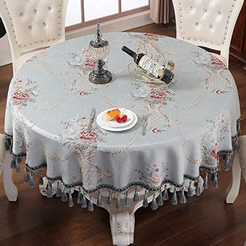 HXRA tafelkleden, tafelkleed, voor buiten, groot tafelkleed, ronde tafel, voor restaurants, rond