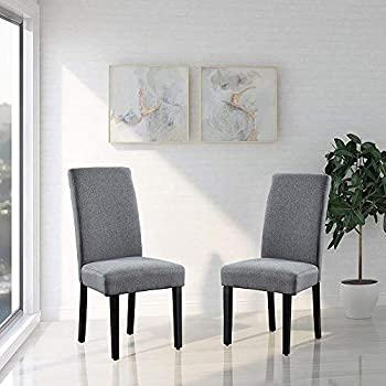 Set of 2 Savona Upholstery Contemporary Dining Accent Chair