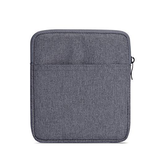 Capa Bolsa Sleeve Para Kindle Oasis 3 - 7 polegadas - Cinza Escuro