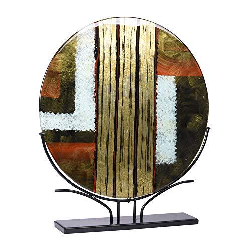 TABLE PASSION - décoration sur Socle Disque Plat Cayenne 48 cm