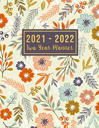 2021-2022 Two Year Planner: 2021-2022 see it bigger Square planner | 24-Month Plan & Calendar with Holidays Size: 8.5' x 11' ( Jan 2021 - Dec 2022). ... design (2 year monthly planner 2020-2021)