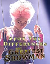 Greatest Showman Spot The Difference: Great Gift Adult Activity Picture Puzzle Books
