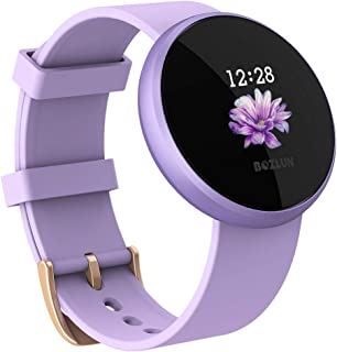 Women's Smart Watch, Lightweight Smart Watch for Women, 1.04 inch IPS Color Touch Screen, Fitness Sleep Monitor Waterproof Call Reminder with Text GPS Auto Wake Screen Smartwatches for iPhone Android