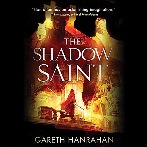 The Shadow Saint audiobook cover art