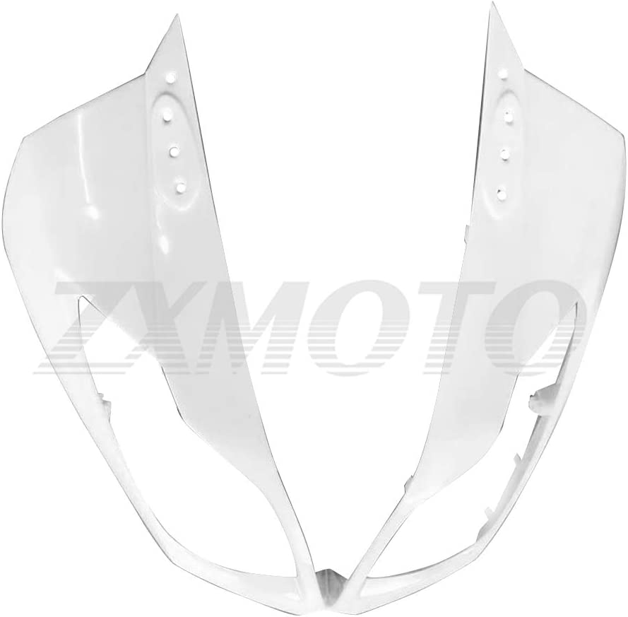 ZXMOTO Unpainted Front Cowl Fairing Max 86% OFF Upper Nose 201 2009 for 2010 Under blast sales