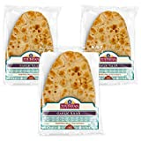 PREMIUM QUALITY – Toufayan Garlic Naan is made with only top quality, wholesome ingredients. NUTRITIONAL FACTS – Zero trans fats, low sodium, 1g of fiber and 5g of protein. Certified Kosher Pareve. DELICIOUS & VERSATILE – East Indian versatile flatbr...