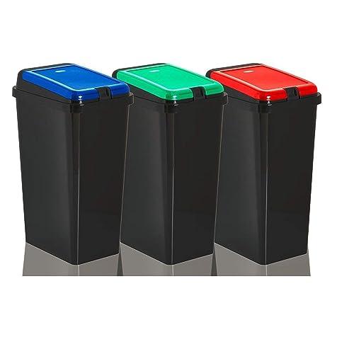 Rubbish Bin Set Amazon Co Uk