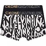 Calvin Klein 2PK Trunks Baadores Ajustados para Hombre, Brokenstripewhiteaop/Pvhblack, 12 años para Niños