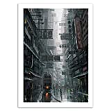 Wall Editions Art-Poster - Hong Kong - Wlop