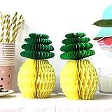SUNBEAUTY Sommer Party Dekoration Kit Flamingo Ananas Hawaii Tropische Deko - 2