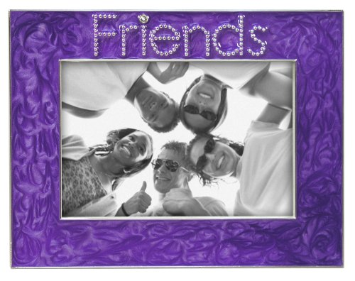 Malden Friends Metal Picture Frame Purple 3.5 x 5