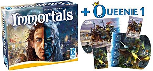 Queen Games 20231 - Immortals + Queenie 1: Neue Völker