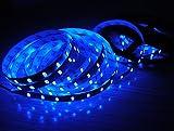 BSOD NewStyle 5M 5630 SMD Super Bright Flexible LED Light Strip Non-Waterproof 300 LEDs Strip Flexible lamp Light (Blue)